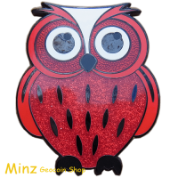 Bundle Owl Geocoin & TussiTasche red