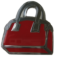 Tussi-Tasche Geocoin in Red LE