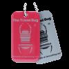 Geocaching QR Travel Bug® - Atomic Pink